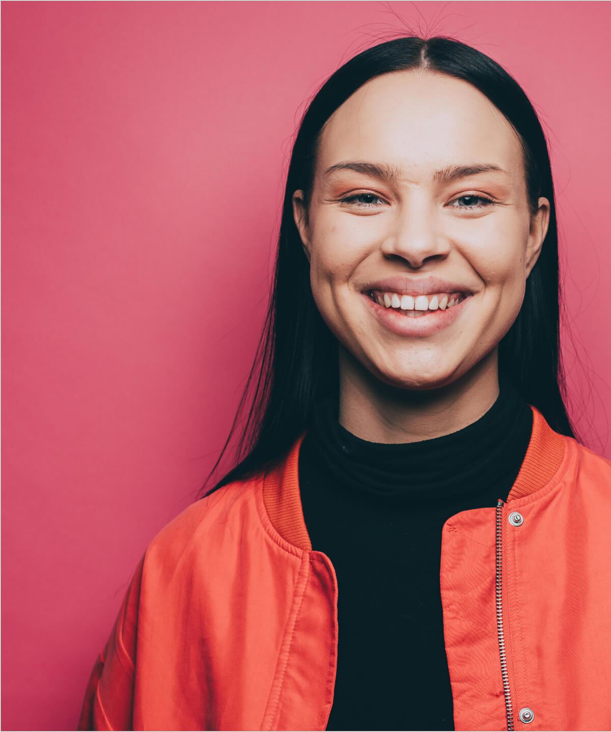 Portrait von einer Frau